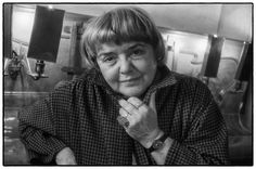 Fernanda Pivano 1988 Italian writer, journalist.  hansvisserphotography©