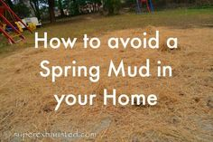 Cheap Solution for a Muddy Backyard #home #garden #backyard  muddy back yard solution