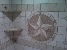texas star kitchen decor - Internal Home Design Texas Star, Custom Bathroom, Custom Tiles, Kitchen Decor, Bathroom Upgrades, Rustic Texas Decor, Custom Shower, Winnsboro, Candle Stick Decor