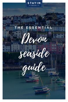 Craving a quintessentially British seaside holiday, complete with beach huts, ice cream and amusement arcades? and are perfect for you 💙 Devon Holidays, Seaside Holidays, Devon Beach, British Seaside, Things To Do, Good Things, Beach Huts, Holiday Destinations, Infographic