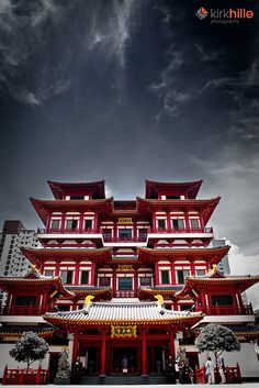 The Buddha Tooth Relic Temple and Museum is a Buddhist temple and museum complex located in the Chinatown district of Singapore.