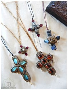 Parrish Relics ~ Crosses Shabby Chic Jewelry, Star Of David, Religious Jewelry, Crucifix, Cathedrals, Crosses, Metal Jewelry, Heavy Metal, Craftsman
