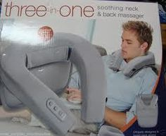 SOLD!  three-in-one soothing neck and back massager by Conair