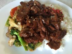 Mongolian beef - slow cooker central tried jan, 2018 Slow Cooker Freezer Meals, Crock Pot Slow Cooker, Crock Pot Cooking, Slow Cooker Recipes, Crockpot Recipes, Cooking Recipes, Cooking Stuff, Oven Cooking, Asian Cooking