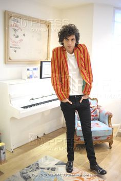 Mika at home