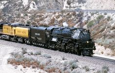 Union Pacific 3985 is a 4-6-6-4 steam locomotive built in 1943 by the American Locomotive Company.