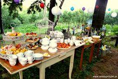Wedding outdoor buffets / Wesele w plenerze bufety