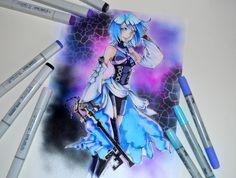 Aqua from Kingdom Hearts by Lighane on DeviantArt