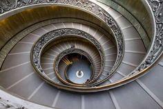 Escaleras, MUSEO DEL VATICANO.