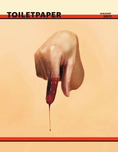 by Maurizio Cattelan, in collaboration with photographer Pierpaolo Ferrari for Toilet Paper magazine, 2011 (via Fubiz) Paper Magazine, Magazine Art, Magazine Covers, Vaporwave, Strange Photos, Printed Matter, Italian Artist, Art Direction, Photo Book