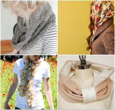 25 scarf tutorials