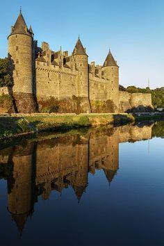 Josselin Castle - Wikipedia  Adventure | #MichaelLouis - www.MichaelLouis.com