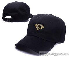 4f039f56c867c Cheap Wholesale A1505 Diamond Caps Golf Baseball Caps Hiphop Hats Black for  slae at US 8.90 · Knit BeanieSnapback ...