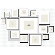Picture Wall Layout Ideas How To IKEA Ribba Frame Gallery Wall ❤ liked on Polyvore featuring home, children's room and children's bedding