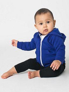 Infant Flex Fleece Zip  from American Apparel.