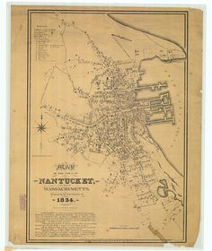 Town of Nantucket in the state of Massachusetts by HyannisMarina