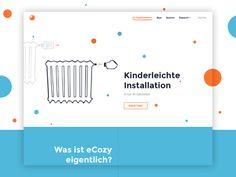 eCozy Website – Functionality