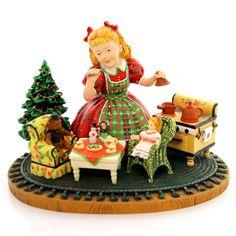Christmas MUFFY'S TEA PARTY Polyresin Artist Proof Kinder Christmas 13719  | eBay