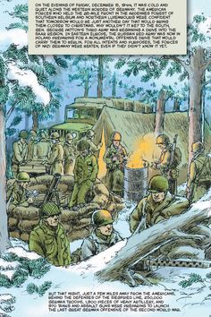 WWII, the Battle of the Bulge and graphic nonfiction.