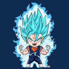 Chibi SSGSS Vegetto - Visit now for 3D Dragon Ball Z compression shirts now on sale! #dragonball #dbz #dragonballsuper