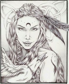From Wiccan Parents fb page. The Morrigan