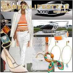 GabyG on the helicopter and Murcielago ride on Lola's Island, Belize., created by gabyg on Polyvore