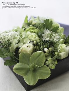A gift of fresh green