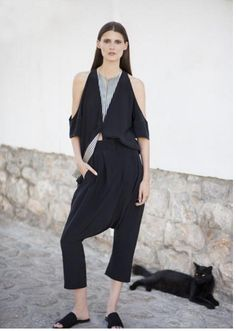 With a rich heritage rooted in mythology and symbolism, Zeus+Dione transcends classical notions of style and design. Suede Leather, Black Suede, White Wings, Ss 2017, Corfu, Trousers, Jumpsuit, Normcore, Shirts