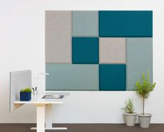 Multifunctional Sound Absorbent Screen System for the Office