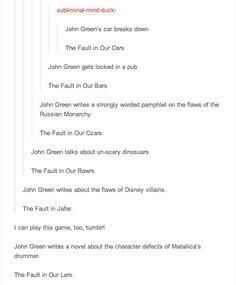 John Green is basically my hero.