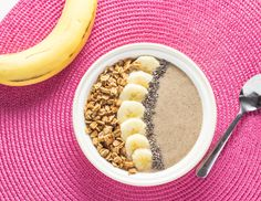 banana pudding smoothie bowl
