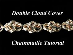 Chainmail Tutorial for Double Cloud Cover PDF by WolfstoneJewelry