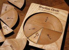fraction circle, math tools, education, eco play