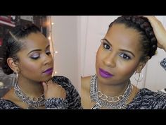 The Goddess Braid| Protective Style Natural Hair - YouTube