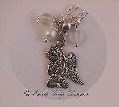 Girl's praying #angel charm first #(1st) holy communion/christening #necklace g,  View more on the LINK: 	http://www.zeppy.io/product/gb/2/150745862091/