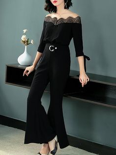 9fded7fc8b Buy Jumpsuits For Women from At.   at Stylewe. Online Shopping Black Elegant