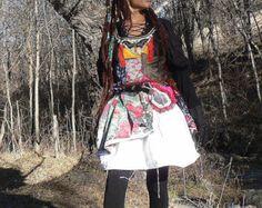 winter dress in patchwork от freaksbazar на Etsy