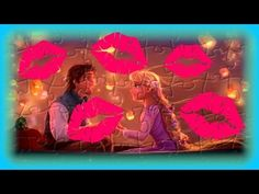 Rapunzel and Flynn Rider Floating Lanterns - Kids Learn & Play Toy Puzzle Games - YouTube