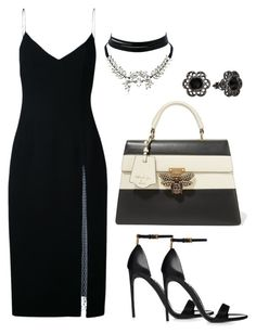 """""""Untitled #1919"""" by krocker on Polyvore featuring Christopher Esber, Gucci, WithChic and 1928"""
