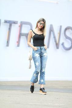 #SPFW – Calça jeans desejo! – Carol Tognon