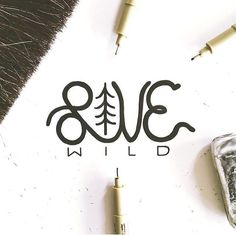 Love wild by @jacobjoye #designspiration #design #lettering #creative - View this Instagram https://www.instagram.com/Designspiration/