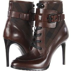 Shop for Check Panel Leather Boots by Burberry at ShopStyle. Cute Shoes, Me Too Shoes, Bootie Boots, Ankle Boots, Botas Sexy, Next Shoes, Sexy Boots, Crazy Shoes, Beautiful Shoes