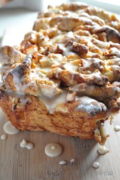 Apple Cinnamon Pull Apart Bread, gluten free and dairy free