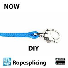 """Ropesplicing app van de Lijnenspecialist (Premium Ropes) van Jan-Willem Polman, auteur van het """"Handboek splitsen van moderne lijnen"""""""