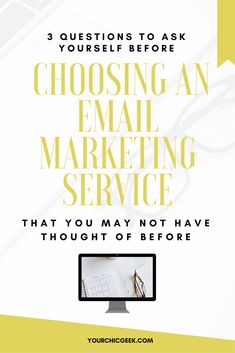 Choosing an Email Marketing Service for the First Time? Read this post to find out 3 things to take into consideration