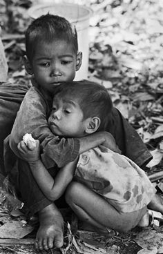 Cambodia, 1979 We cannot forget or take for granted everything we have and what others don't!!