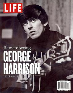 George....  What a genius!  Wrote some of the very best Beatles songs, and an amazing guitarist