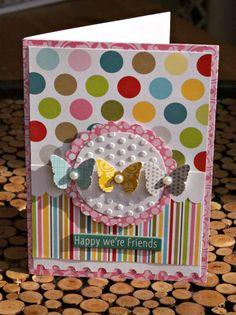 Pretty card (by Sheri Feypel from the Bella Blvd blog)