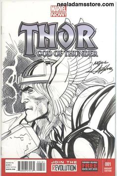 Thor by Neal Adams *