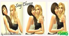 Downloaded - Sims 4 Updates: The Sims Lover - Poses : Say Cheese Couple Poses by dolcissimasirenetta, Custom Content Download!